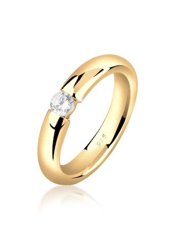 Nenalina Fingerring »Damenring Solitär mit Zirkonia 925 Silber« kaufen
