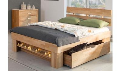einzelbett mit stauraum, stauraumbett online kaufen » betten mit stauraum | baur, Design ideen