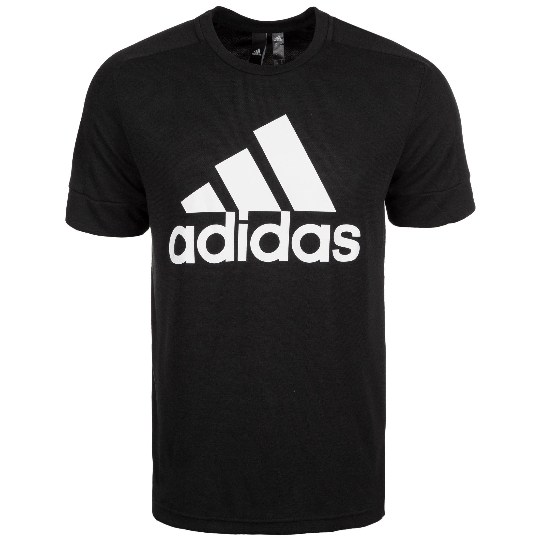 adidas Performance Trainingsshirt Id Stadium Badge Of Sport | Sportbekleidung > Sportshirts > Funktionsshirts | Schwarz | Adidas Performance
