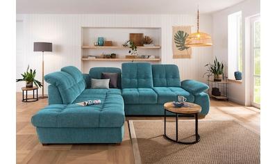 Home affaire Ecksofa »Lotus Home Luxus«, belastbar bis zu 140kg, incl.... kaufen
