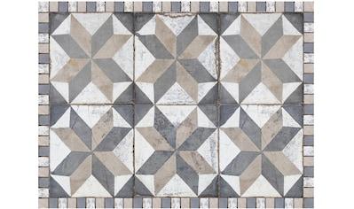 Contento Platzset »Matteo, Tiles used style blue-beige«, (Set, 4 St.), für innen und... kaufen
