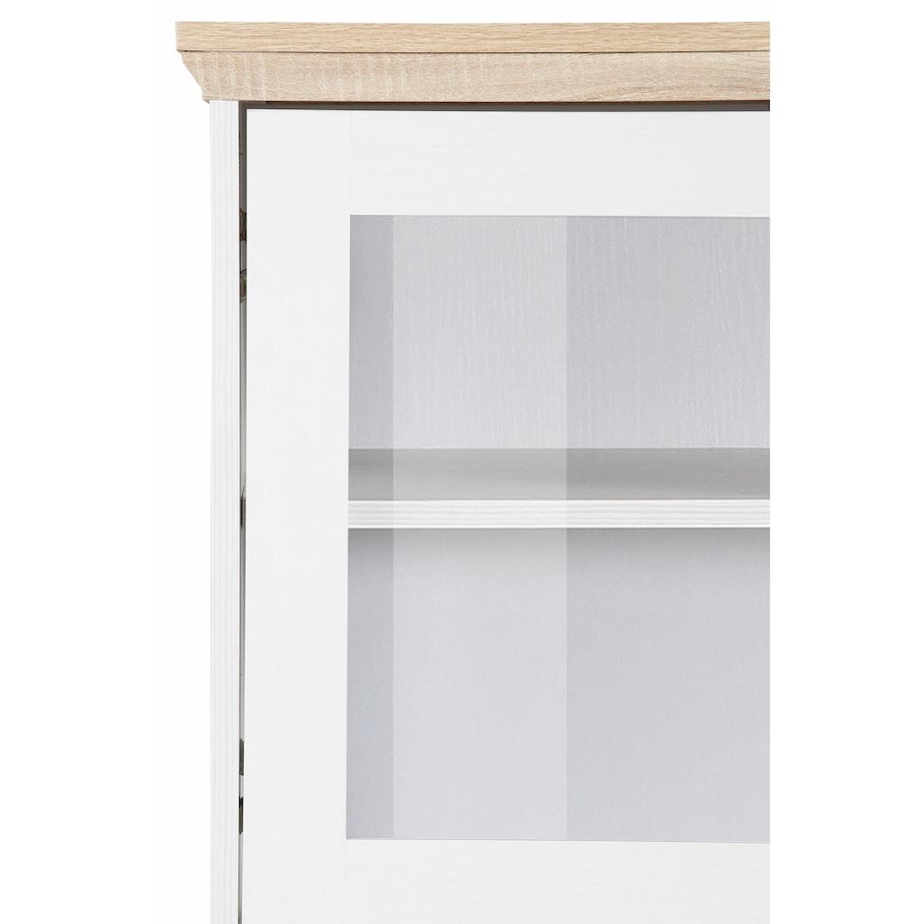 Home affaire Highboard »Nanna«, in duroplastischer Oberfläche Folien Eichen-Optik, Breite 118 cm