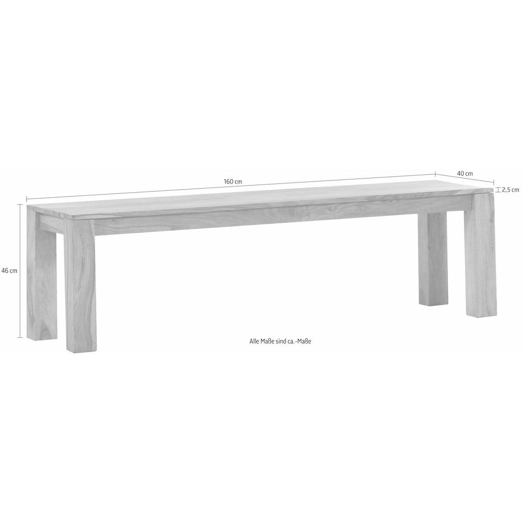 Gutmann Factory Sitzbank »Inka«, passend zum Tisch der Serie