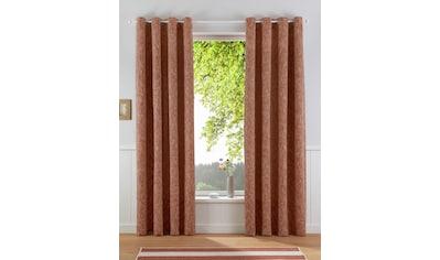 Vorhang, »Structure«, my home, Ösen 1 Stück kaufen