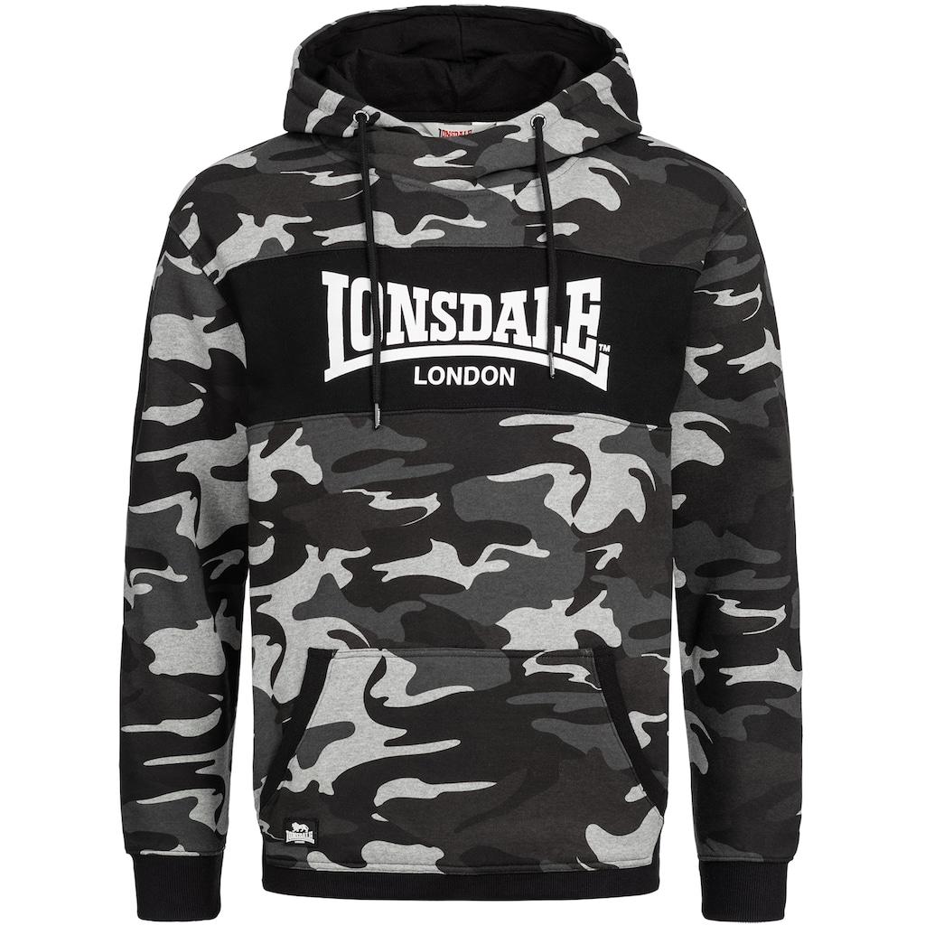 Lonsdale Kapuzensweatshirt mit hohem Tragekomfort