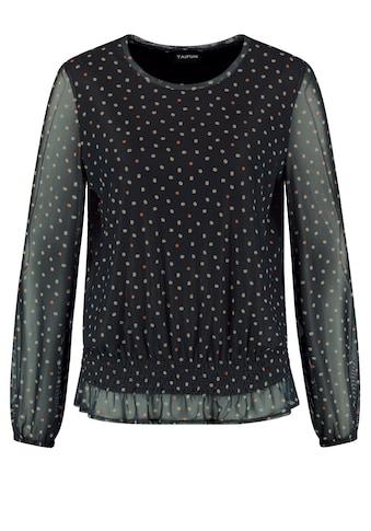 Taifun Rundhalsshirt »Blusenshirt mit Dots - Allover« kaufen