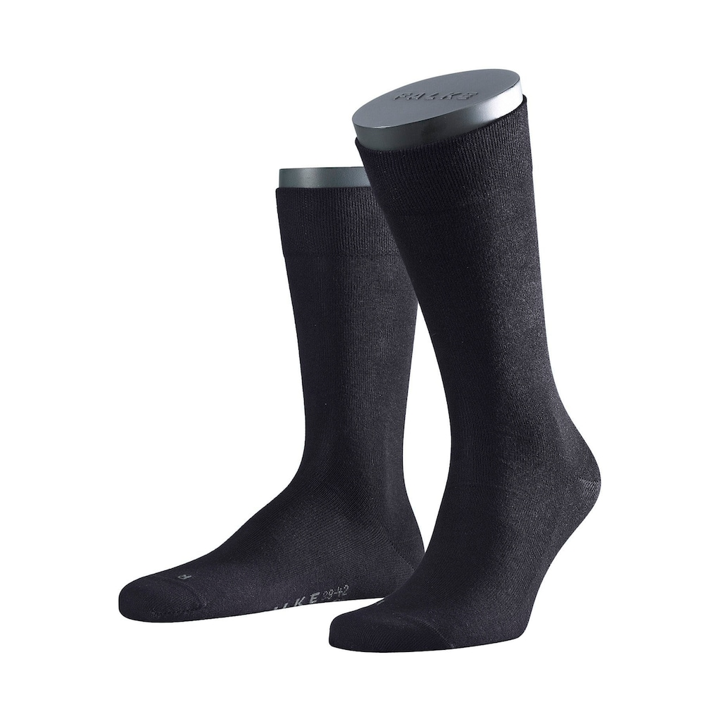 FALKE Socken »Sensitive«, (2 Paar), mit sensitve Bündchen ohne Gummi