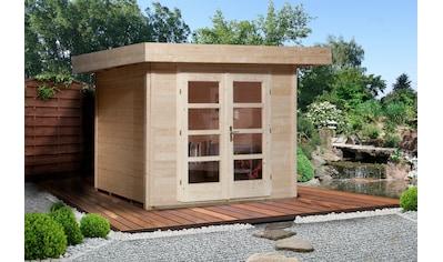 WEKA Gartenhaus »Chill - Out Gr.2«, BxT: 356x314 cm, inkl. Fußboden, in versch. Farben kaufen