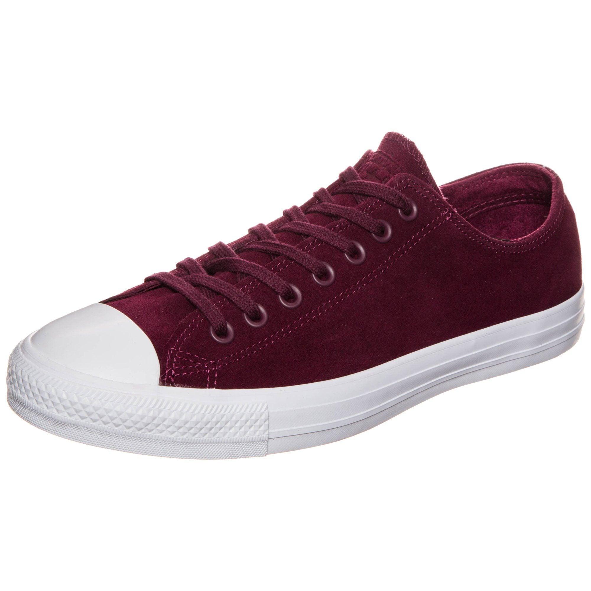 Converse Sneaker Chuck Taylor All Star Plush Suede Ox | Schuhe > Sneaker > Sneaker low | Rot | Converse