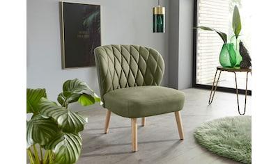 INOSIGN Relaxsessel »Vernon«, in 3 verschiedene Farbvarianten aus weichem... kaufen