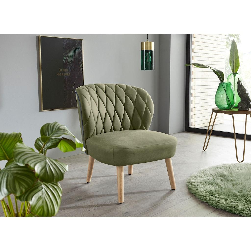 INOSIGN Relaxsessel »Vernon«, in 3 verschiedene Farbvarianten aus weichem Luxus-Microfaser Bezug, Sitzhöhe 38 cm