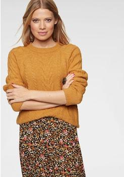 info for 5fc0b 047b4 Gelbe Pullover für Damen » Pullover Senfgelb online kaufen ...