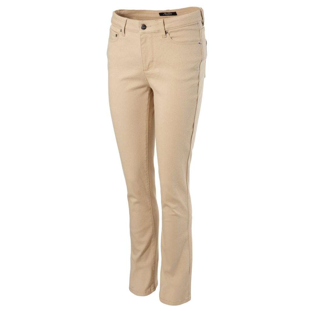 Aniston CASUAL Bootcut-Jeans, in knöchelfreier Länge