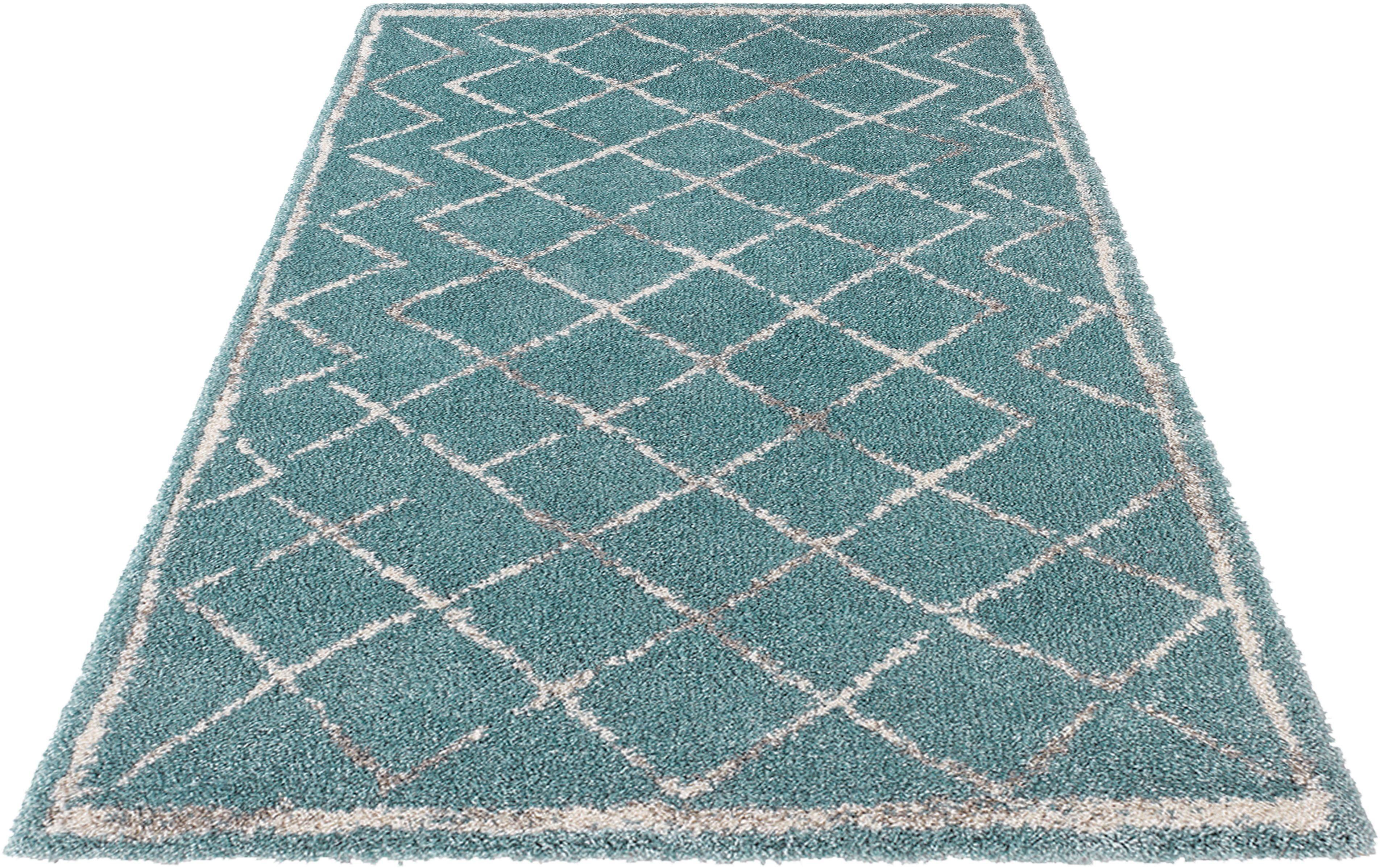 Hochflor-Teppich Loft MINT RUGS rechteckig Höhe 35 mm