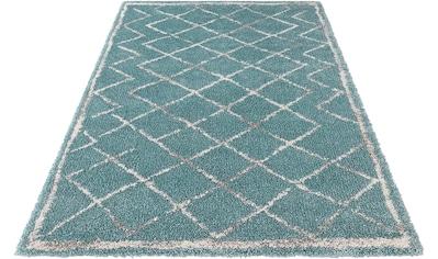Hochflor - Teppich, »Loft«, MINT RUGS, rechteckig, Höhe 35 mm, maschinell gewebt kaufen