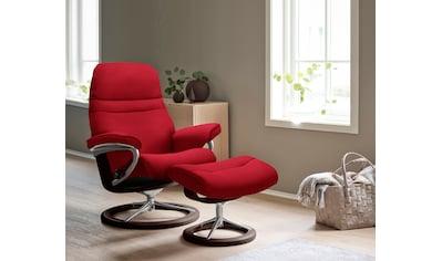Stressless® Relaxsessel »Sunrise«, mit Signature Base, Größe M, Gestell Braun kaufen