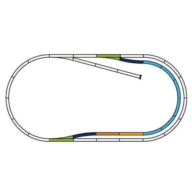 """PIKO Gleise-Set """"Gleise-Set C, Bahnhofs-Set - 55320, Spur H0"""""""