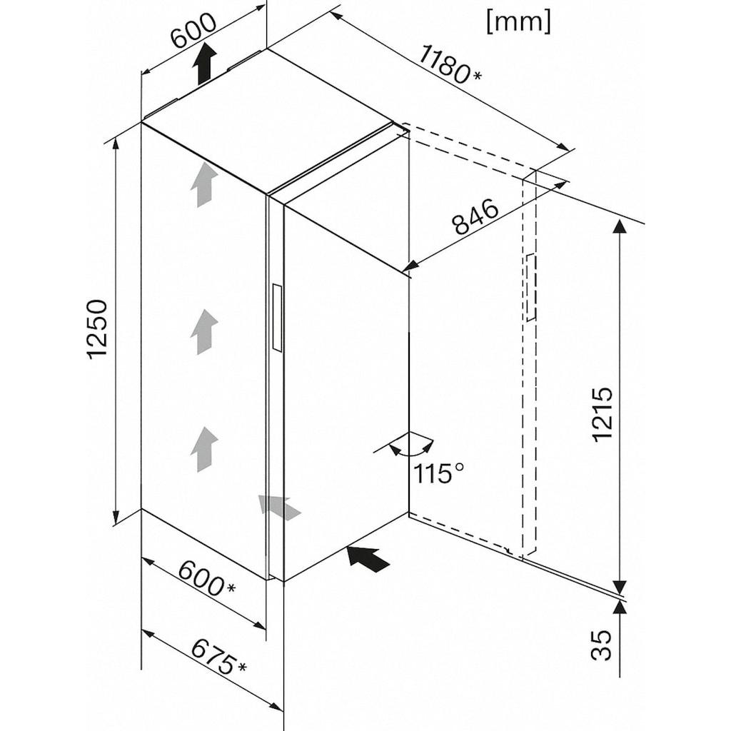 Miele Gefrierschrank »FN 22263 ws«, 125 cm hoch, 60 cm breit