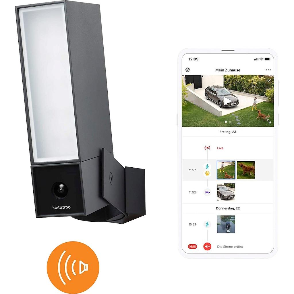 Netatmo Überwachungskamera »Smarte Außenkamera mit Alarmsirene«, Außenbereich, (1)