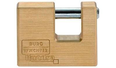 BURG WÄCHTER Vorhängeschloss »Quadra 444 70 SB«, Zylinder - Vorhangschloss kaufen