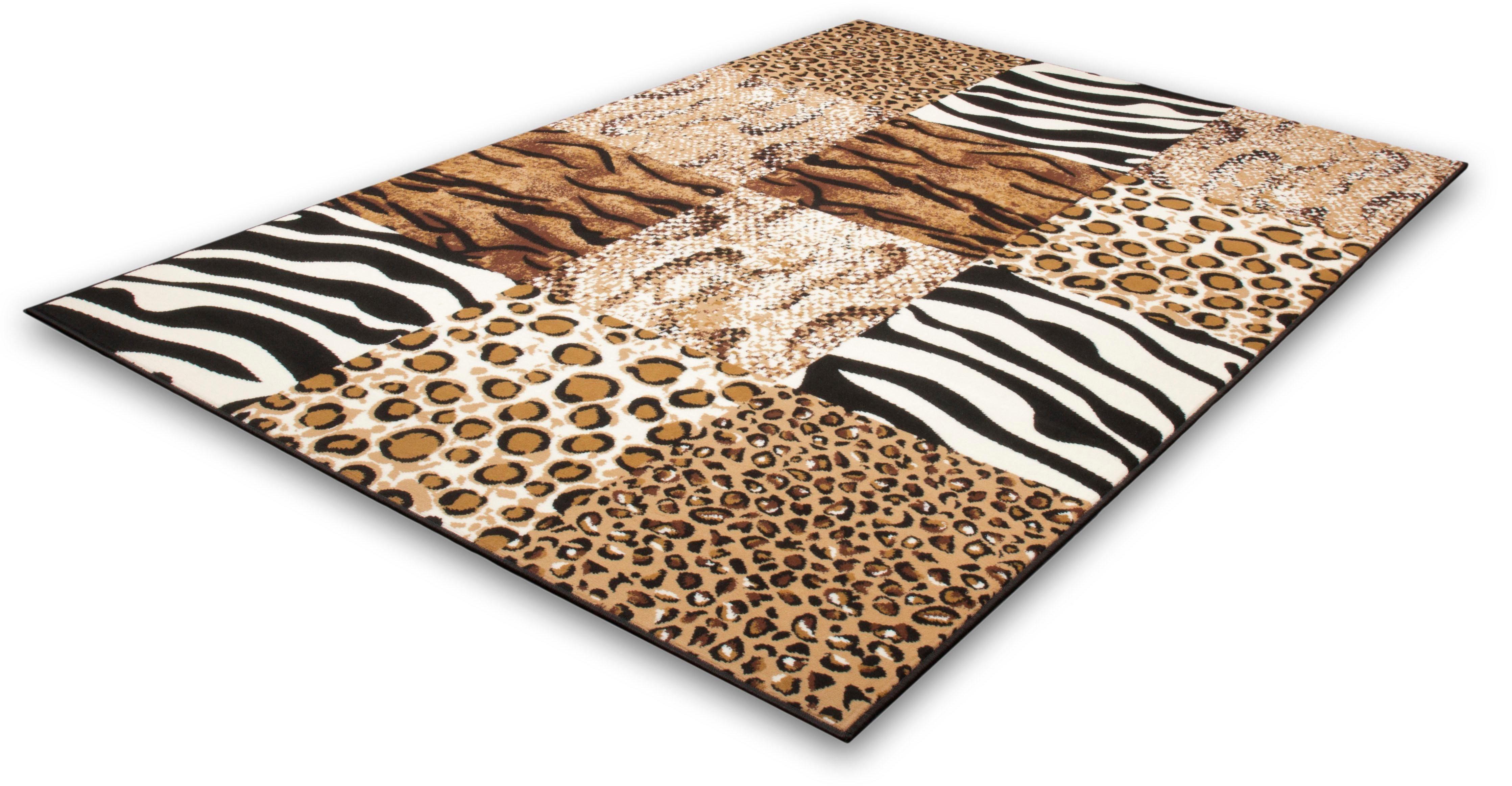 Teppich Jesse 130 calo-deluxe rechteckig Höhe 10 mm maschinell gewebt