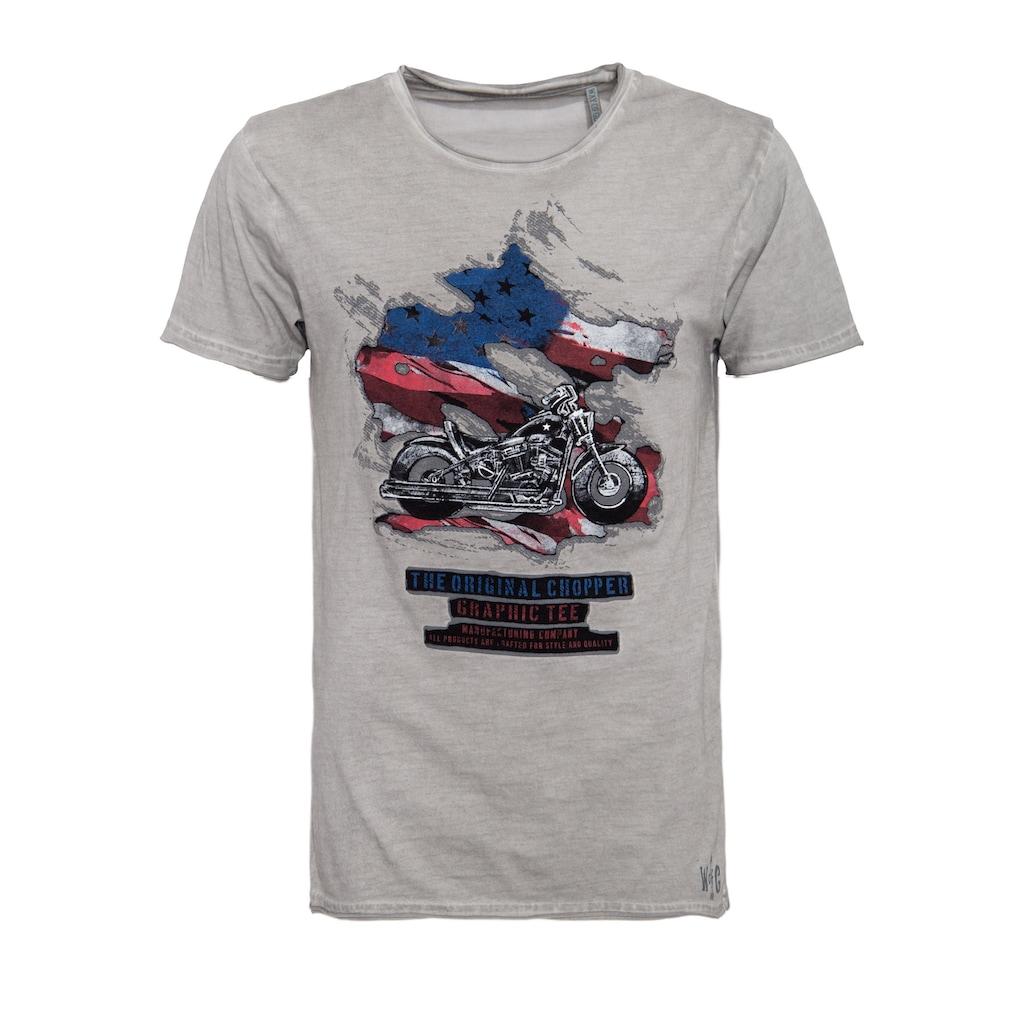 Way of Glory T-Shirt, mit Patch-Motiv