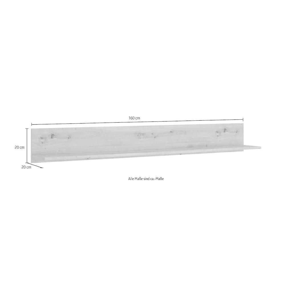 INOSIGN Wandregal »Luci«, Breite 160 cm