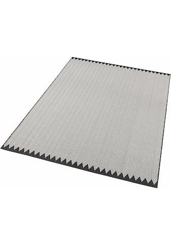 freundin Home Collection Teppich »Ida«, rechteckig, 4 mm Höhe, Flachgewebe, gekettelt, Wohnzimmer kaufen