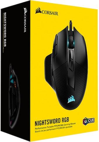 Corsair Gaming-Maus »NIGHTSWORD RGB PerformanceTunable Gaming Mouse« kaufen