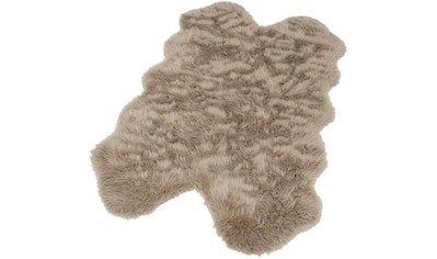 Home affaire Fellteppich »Dena«, fellförmig, 60 mm Höhe, Kunstfell, sehr weicher Flor,... kaufen
