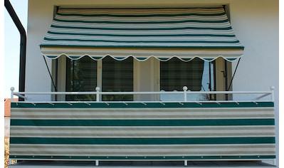 Angerer Freizeitmöbel Balkonsichtschutz »Nr. 8700«, Meterware, grün/beige, H: 90 cm kaufen