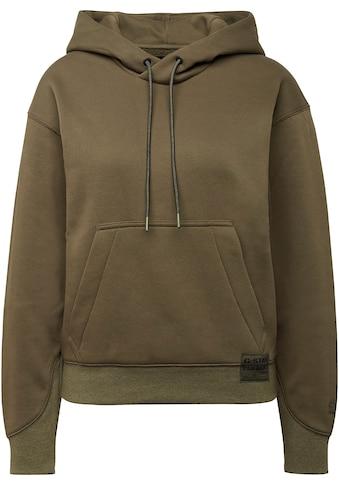 G-Star RAW Kapuzensweatshirt »Premium Core Hooded Sweatshirt«, mit Kängurutasche und weiter Kapuze mit Kordelzug kaufen