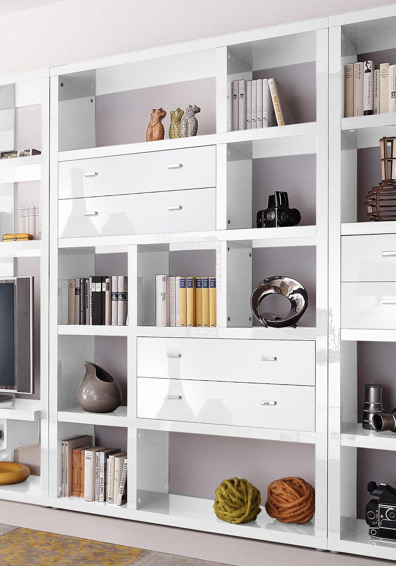 Regal  Space , HMW Möbel, Breite 123 cm Preisvergleich