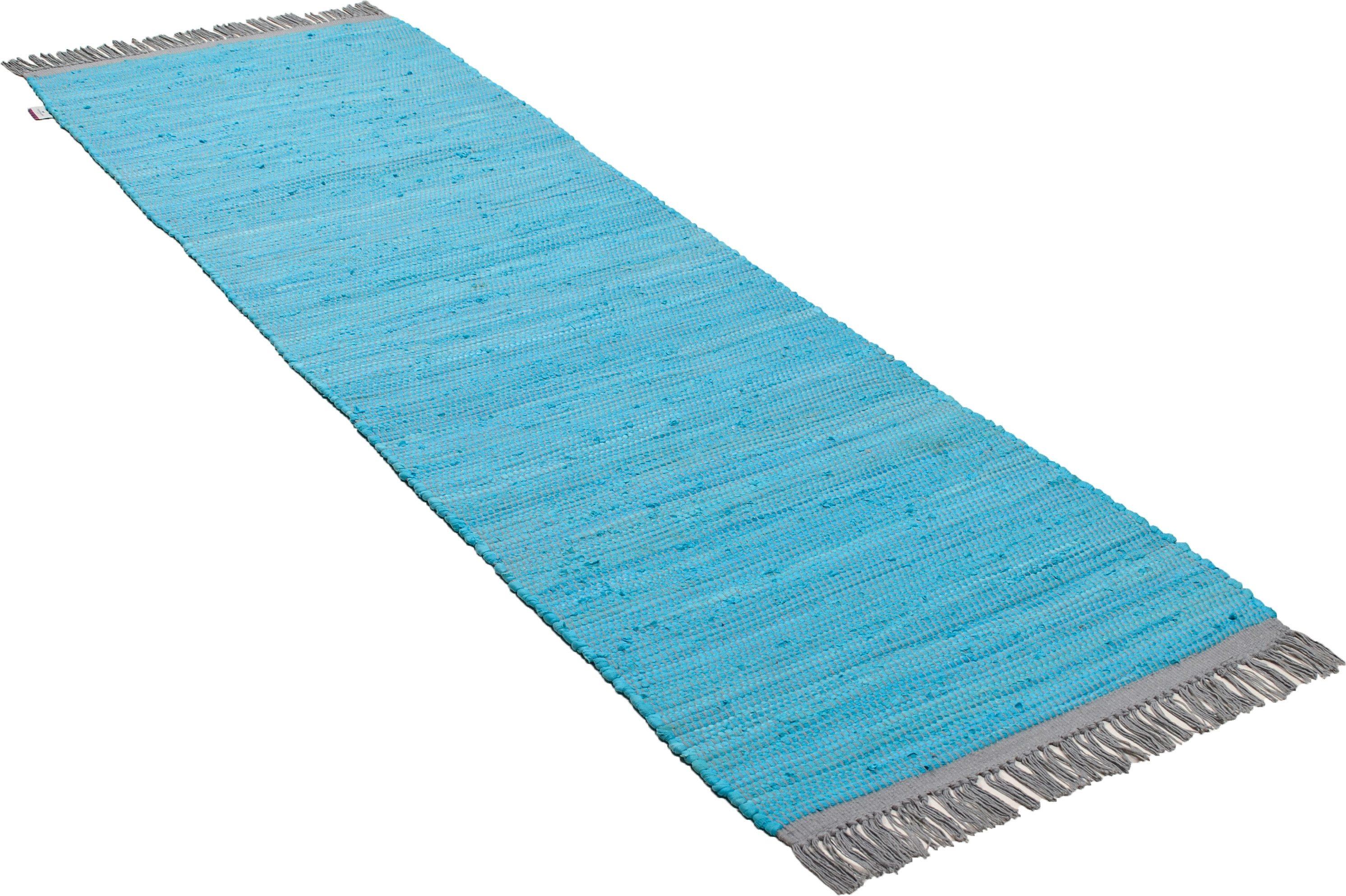 Läufer Cotton Colors TOM TAILOR rechteckig Höhe 8 mm maschinell gewebt