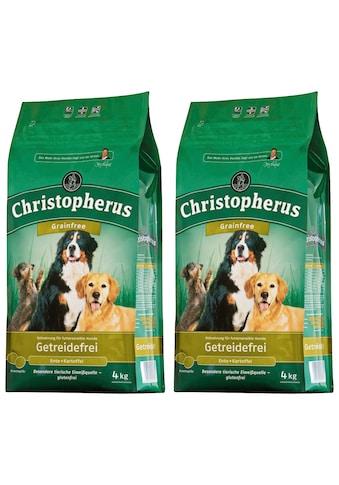 Christopherus Trockenfutter »Getreidefrei Ente und Kartoffel«, (2), 2 Beutel á 4 kg kaufen
