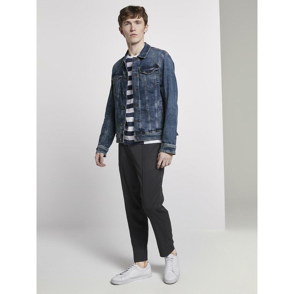TOM TAILOR Denim Jeansjacke »Jeansjacke mit Brusttaschen«
