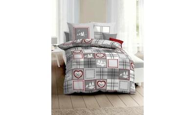 Kaeppel Bettwäsche »Tradition«, mit winterlichem Muster kaufen