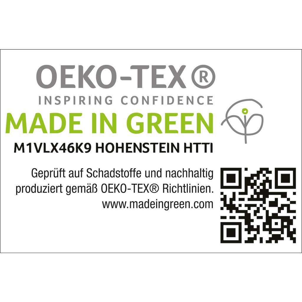 OTTO products Spannbettlaken »Jannis«, Mako-Jersey aus zertifizierter Bio-Baumwolle mit Elasthan