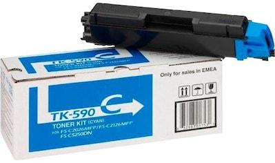 Kyocera Tonerpatrone »Kyocera TK-590C, original, 1 T02KVCNL0 Toner, Cyan« kaufen