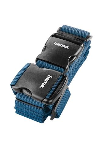 Hama 2 - Wege - Gepäckgurt, 5x200cm/5x230cm, Dunkelblau kaufen