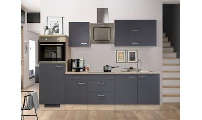 Flex-Well Küchenzeile »MORENA«, mit E-Geräten, Breite 270 cm kaufen