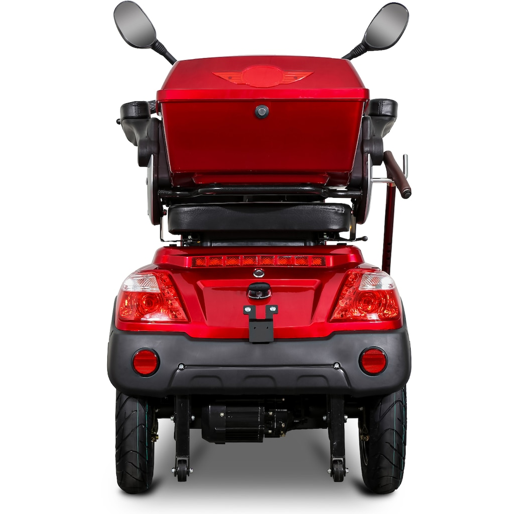 Rolektro Elektromobil »Rolektro E-Quad 25«, 1000 W, 25 km/h, (mit Topcase)