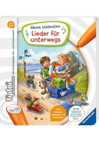 """Ravensburger Buch """"tiptoi® Meine schönsten Lieder für unterwegs"""" kaufen"""