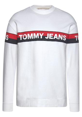 TOMMY JEANS Sweatshirt »TJM BAND LOGO CREW« kaufen