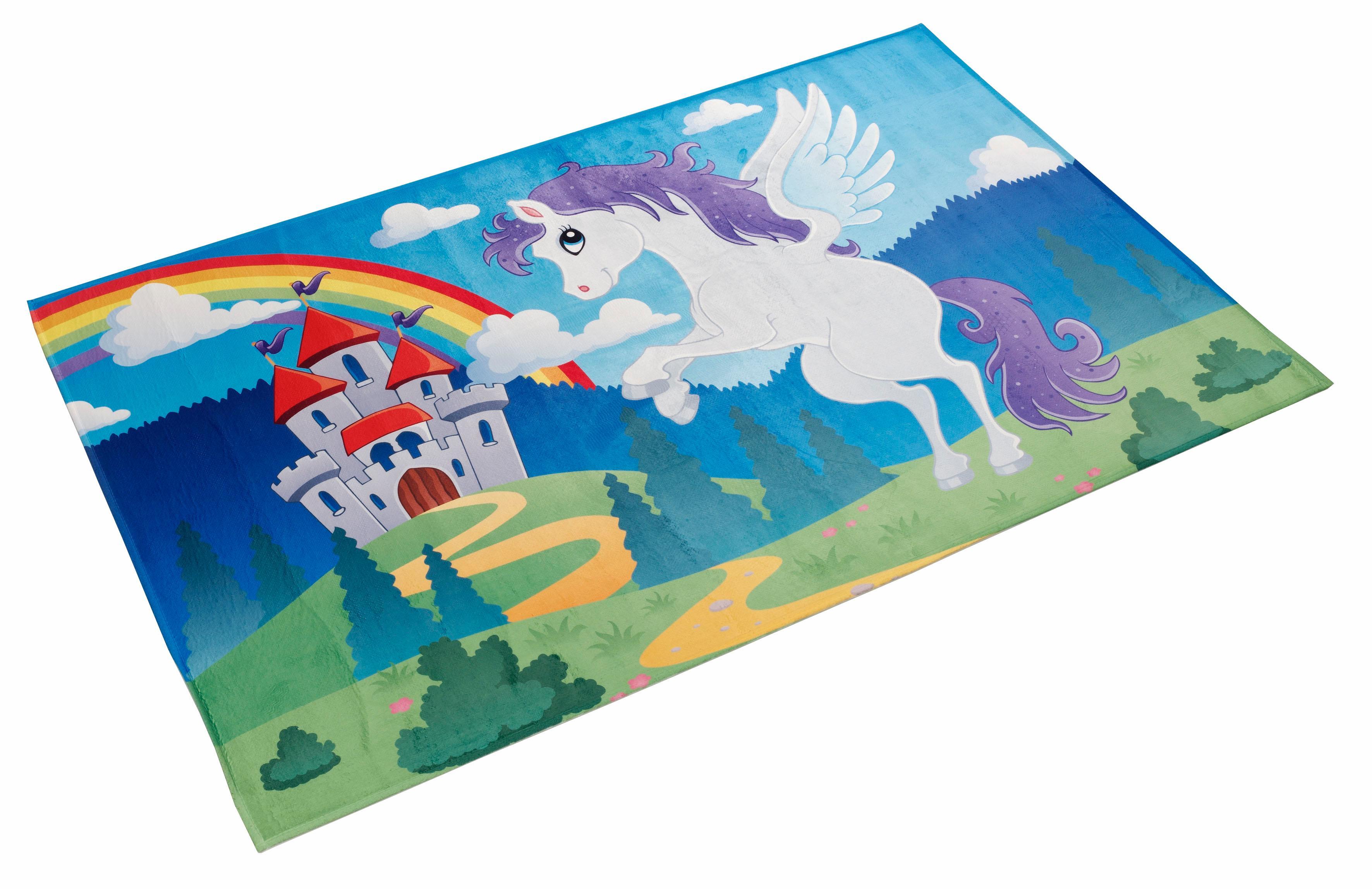 Kinderteppich Lovely Kids 401 Böing Carpet rechteckig Höhe 6 mm gedruckt