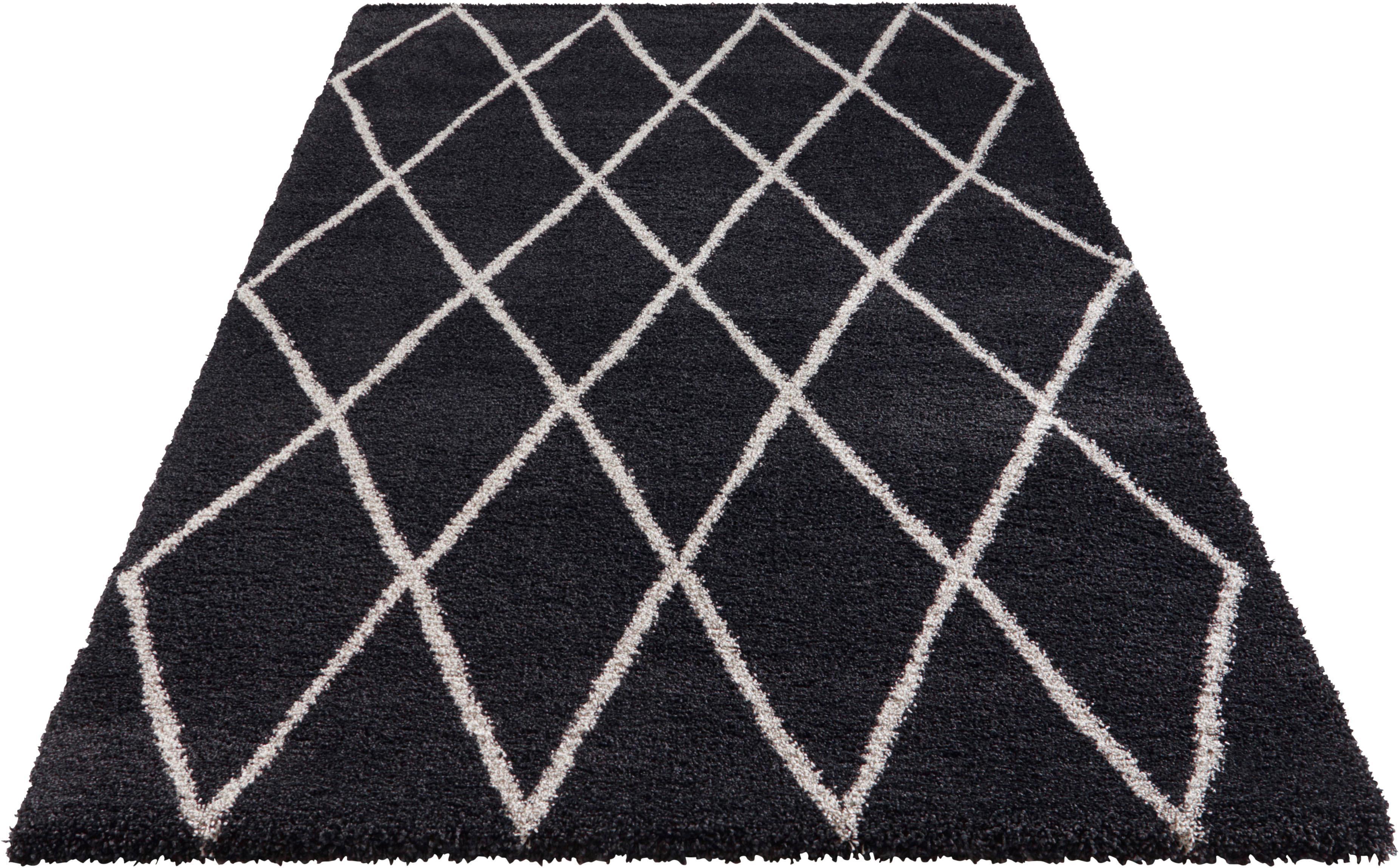 Hochflor-Teppich Abbeville ELLE Decor rechteckig Höhe 32 mm maschinell gewebt
