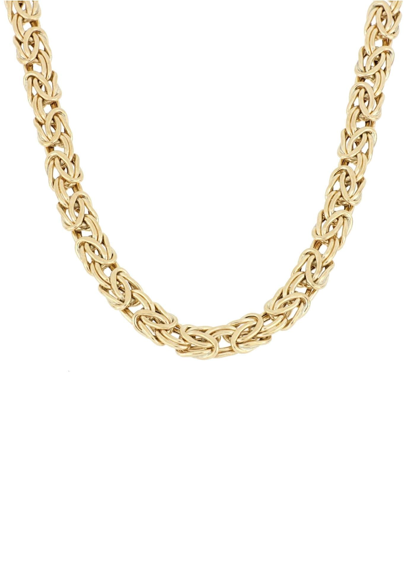 Firetti Königskette 6 mm breit glanz einseitig bombiert | Schmuck > Halsketten > Königsketten | Firetti