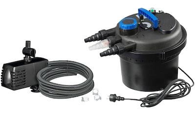 Ubbink Teichfilter »Druckfilter BioPressure II 6000 Plus«, 6.000 l/h, inkl. UV-C Gerät und Teichpumpe kaufen
