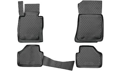 WALSER Passform-Fußmatten »XTR«, BMW, X1, Kombi, (4 St., 2 Vordermatten, 2... kaufen