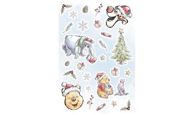 Komar Wandsticker »Winnie Pooh Christmas«, 50 x 70 cm (Breite x Höhe) - 26 Sticker kaufen